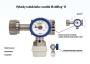 Lahvový redukční ventil MEDIREG®II